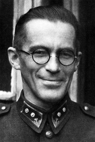Vilho Helanen - Vilho Helanen during the Continuation War
