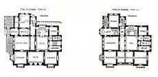 Villa, Karl-Tauchnitzstrasse 10, Leipzig, Architekt Peter Dypwad, Tafel 57, Kick Jahrgang II, Grundriss.jpg