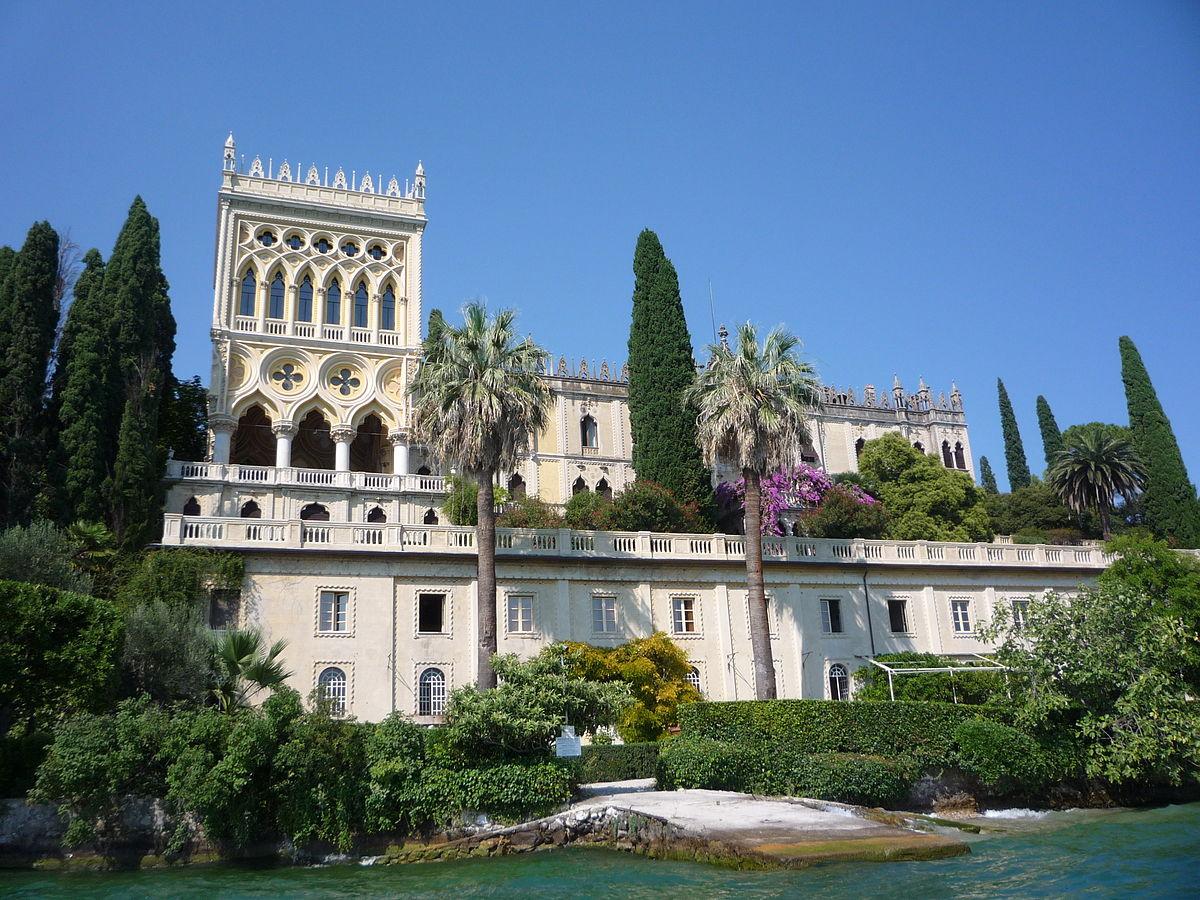 Jardim Ilha del Garda, Lombardia.