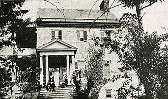 LaRue family - Image: Villa La Rue Clarke County Virginia 1920 21