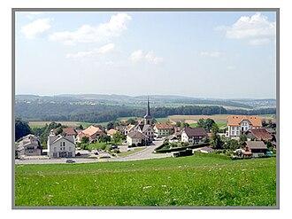 Arconciel - Arconciel village
