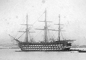 French ship Ville de Paris (1851) - Image: Ville de paris sr 1850