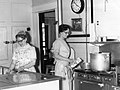 Virginia Miller and Esther Demeter, cooks, Kansas City Children's Home, Kansas City, Missouri, 1965 (15586672813).jpg