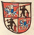 Vitaŭt Vialiki, Pahonia. Вітаўт Вялікі, Пагоня (1460-64).jpg
