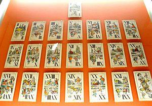 Tarot card games - Industrie und Glück trumps