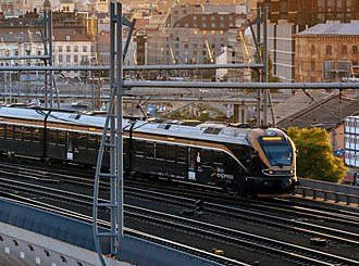 Leo Express - Image: Vlak Leo Express s novým logem