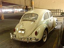 A 1968 Volkswagen Beetle Produced In Puebla City Note The Vw 1500 Badge