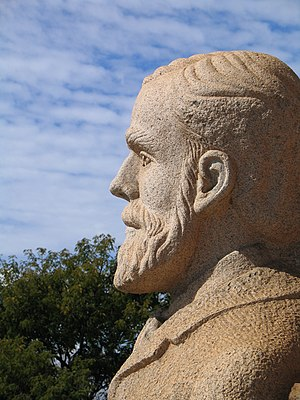 Piet Retief - Statue at the Voortrekker Monument