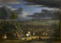 Vue de la marche de l'armée du roi sur Courtray, qui fut prise le 18 juillet 1667.png