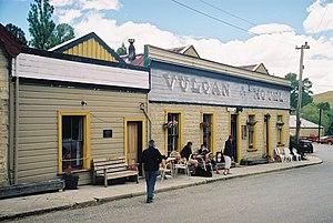 Saint Bathans - Vulcan Hotel, St Bathans