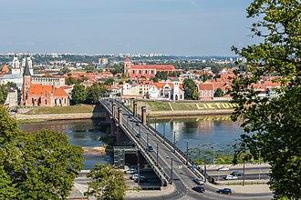 Kaunas - View of Kaunas, Lithuania
