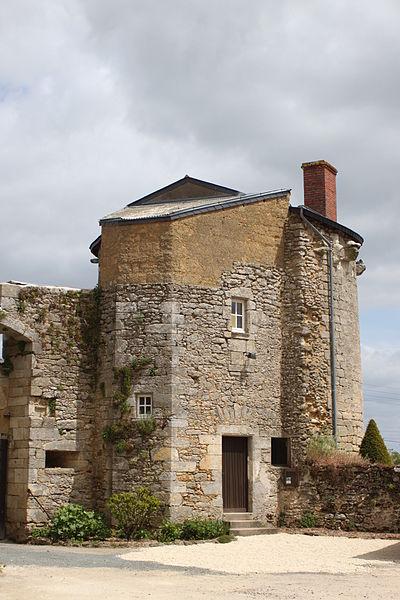Tour du château, Fr-49-Martigné-Briand.