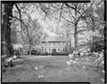 WEST FRONT, FROM ACROSS GROUNDS - Kenmore, 1201 Washington Avenue, Fredericksburg, Fredericksburg, VA HABS VA,89-FRED,1-29.tif