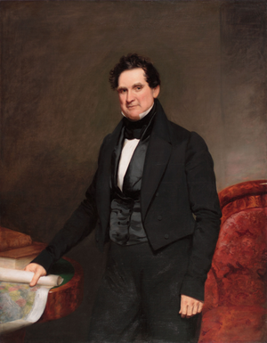 William L. Marcy - Gubernatorial portrait of William L. Marcy.