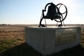 Wadena School monument.png