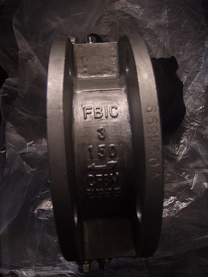 Check valve - Image: Wafer check valve The Alloy Valve Stockist