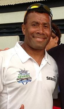 Serevi in Fiji for the 2013 Coral Coast 7's