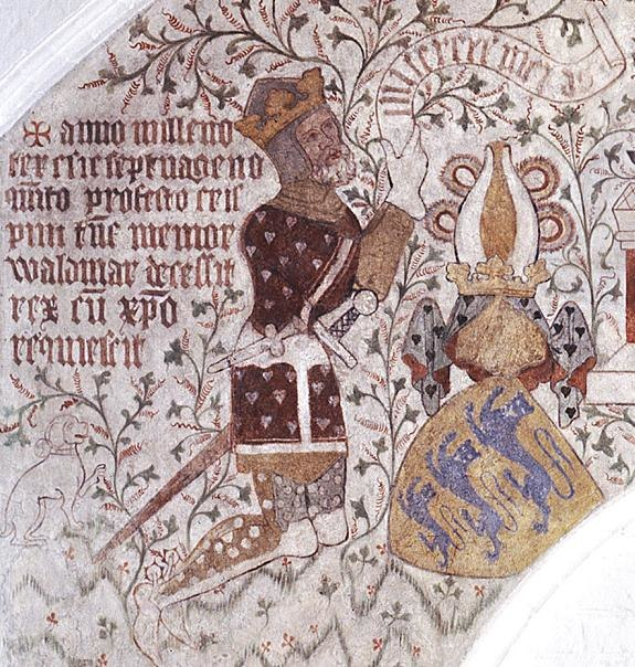 Waldemar IV Otherday of Denmark c 1375