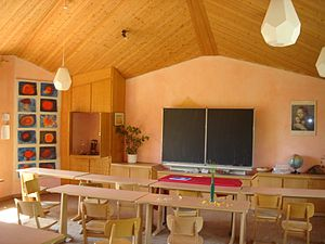 Waldorf education - Waldorf elementary school classroom