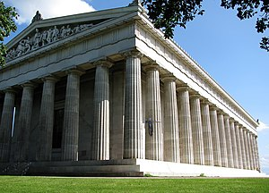 Walhalla memorial - Exterior view from northwest