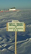 Wall Drug Sign In Antarctica U2013 Free Ice Water, 9,333 Miles Part 50
