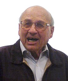 1=Walter Kohn at a lecture at the University of Graz, Austria