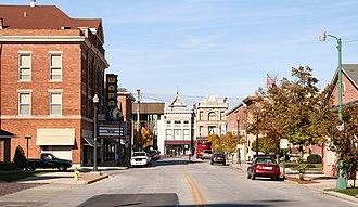 Wapakoneta, Ohio - Wapakoneta's historic downtown