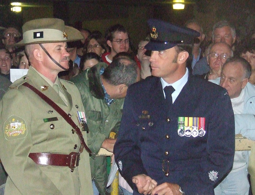 Warrant Officers Class One from the Army and Royal Australian Air Force -2007