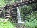 Water flowing from MIngus Mill IMG 4922.JPG