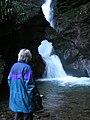 Waterfall at St Nectan's Kieve - geograph.org.uk - 988436.jpg