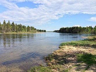 Waterhen River (Manitoba) - Image: Waterhen River 1