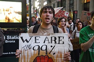 "Occupy Wall Street - ""We Are The 99%"""
