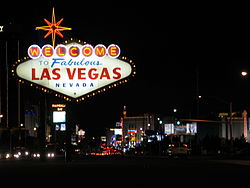 File photo of Las Vegas, 2005. Image: David Vasquez.