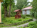 Well and cookhouse, Melikhovo.JPG
