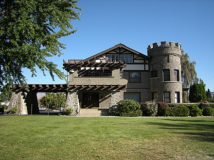 The Wells House, in Chelan County Wenatchee, WA - Wells House 02.jpg