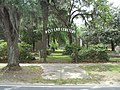 West End Cemetery gate, Quitman.JPG