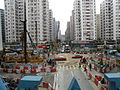 West construction site of Whampoa Station.JPG