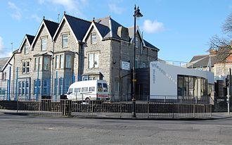 Westbourne School, Penarth - The school in 2009