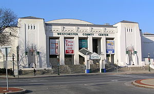 Westchester County Center - Facade of the Westchester Couny Center