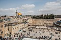 Western Wall and Dome of the Rock, East Jerusalem-15 (33400408541).jpg