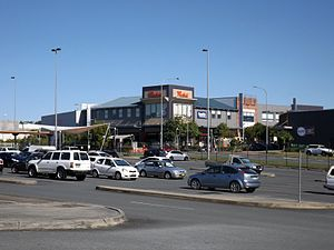 Westfield Helensvale - Shopping centre as seen from the north
