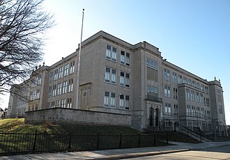 Westinghouse High School (Pittsburgh) - Image: Westinghouse High School