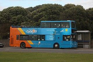 Open top buses in Weston-super-Mare