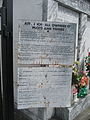Westwego Our Lady of Prompt Succor Cemetery May 2009 12 Signs.JPG