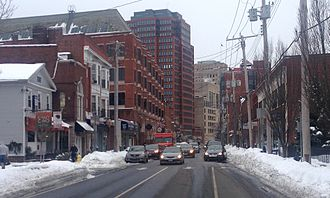 Downtown New Haven - Whitney Avenue