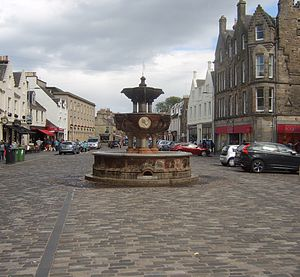 George Whyte-Melville - Whyte-Melville Memorial Fountain, St Andrews, Fife, Scotland