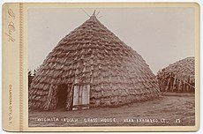 Wichita Indian, Grass House. Near Anadarko, I.T. (4876744423).jpg