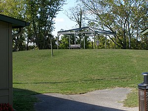 Wickliffe Mounds - Mound at the site