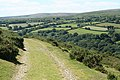 Widecombe in the Moor, rounding Aish Tor 1 - geograph.org.uk - 892744.jpg