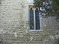 Wigmore (Herefordshire) St James Church, north wall.jpg